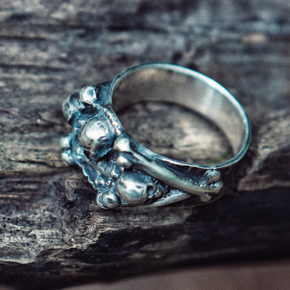Skull And Crossbones Ring Silver 925 Buy Online 120 Pirate Jewelry