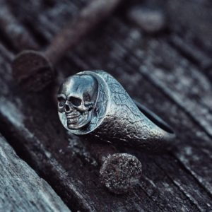 Small skull with texture
