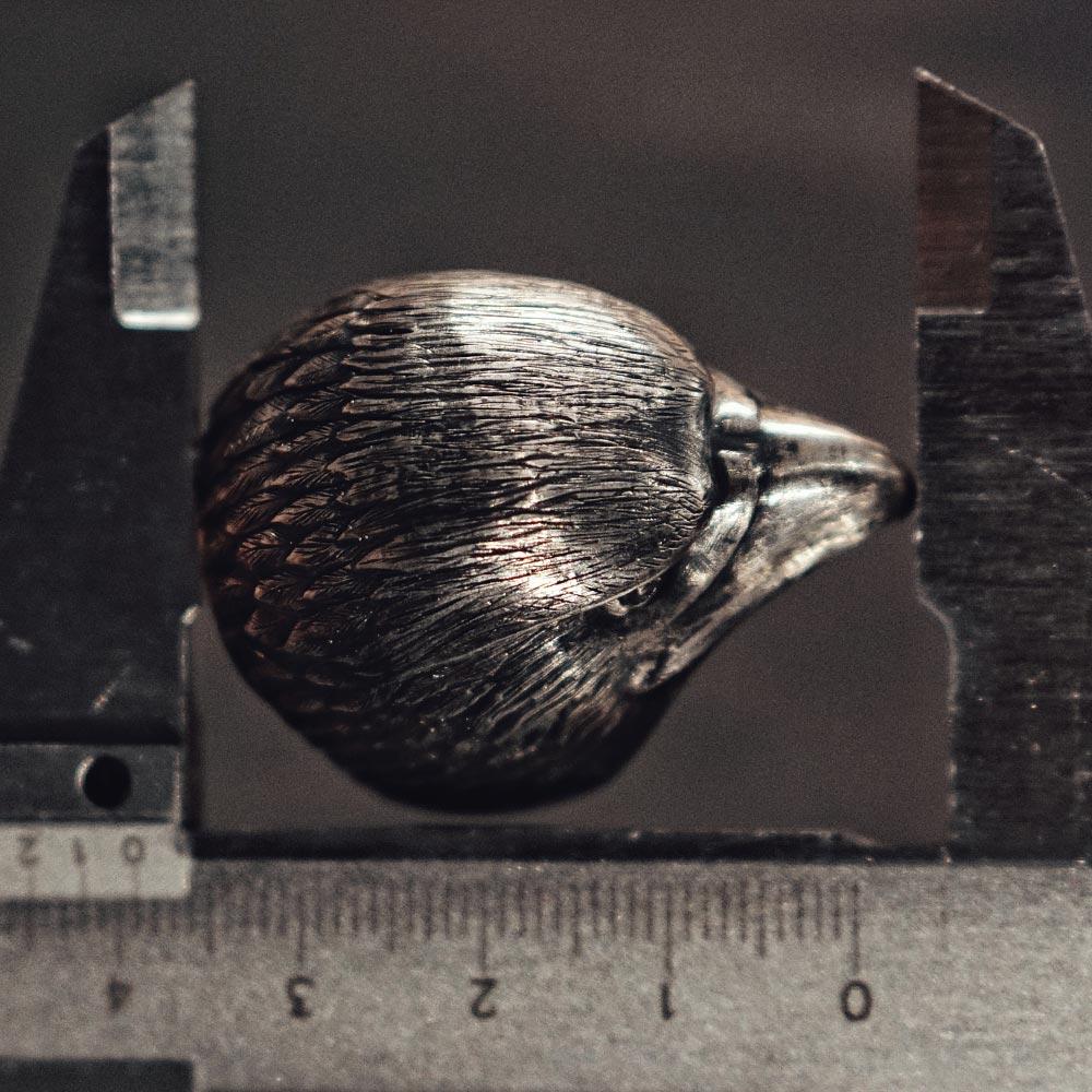 Umjubelt G/ürtelschlie/ße WHEEL EAGLE silver
