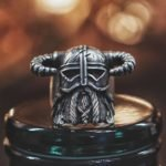 Dragonborn Ring in a helmet