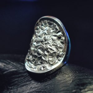 Large Texture Ring