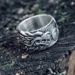 Chine Dragon and Whirl Ring