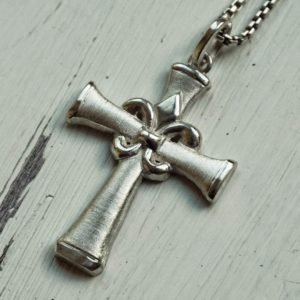Large Silver Cross