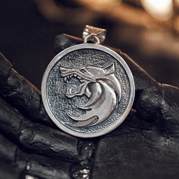 Witcher Pendant SIlver